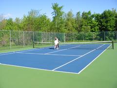 Le tennis la pommeriela pommerie for Mesure terrain de tennis
